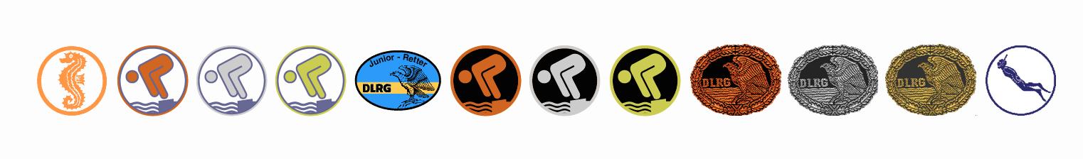 Bronze schwimmabzeichen