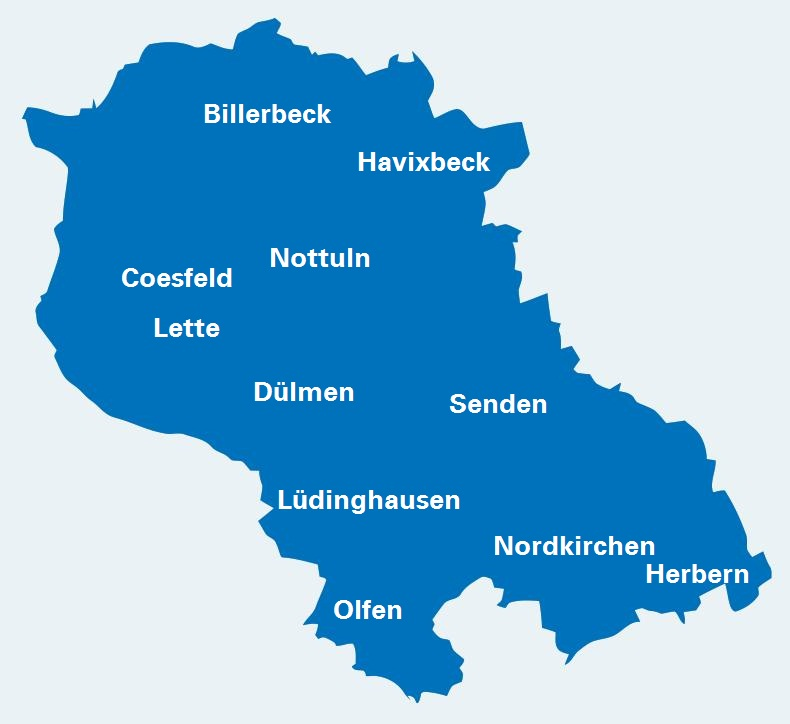 Bezirk Coesfeld