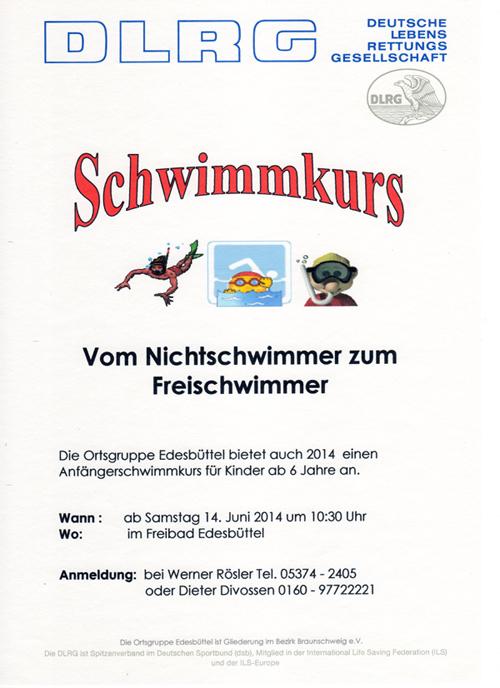 Schwimmkurs edesbüttel